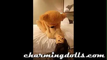 sexdoll fucked hard by  giant.