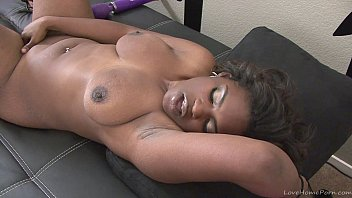 big ass black girl playing with.
