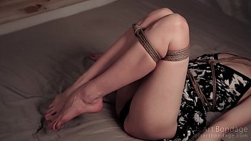 hard tied seductive legs in short.