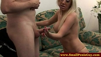 small dick guy getting humiliated