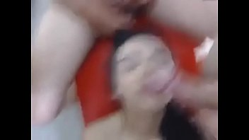 oral gangbang for horny college