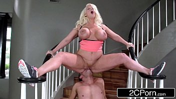 stepmom alura jenson challenging stepson to live up.