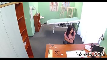 doctor enjoys arousing therapy