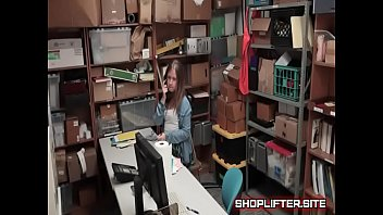 naughty shoplifting nympho backroom shop hidden-cam.