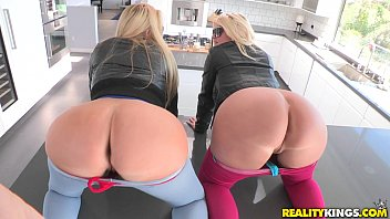 reality kings - two hot blondes.