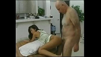 old dude gets an japanese workout.