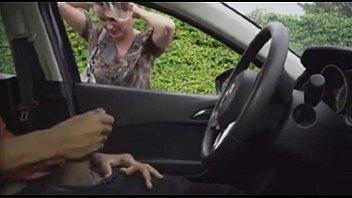 wank in the car - free.