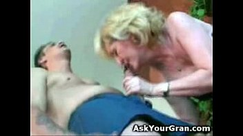 granny fucked on the floor doggy she gets.