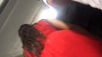 upskirt legs red dress