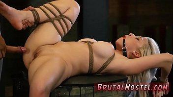 blonde latex domination big-breasted platinum-blonde hottie.