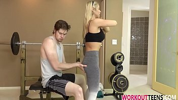 sarah vandella in no workout without her protein shot