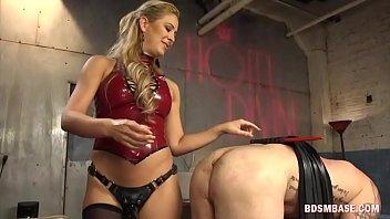 blonde milf punished her husband