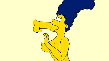 marge deepthroat and cum- first marge.