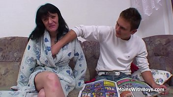 busty mother fucking son'_s cock -.