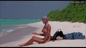 bo derek - naked on the beach, shows.