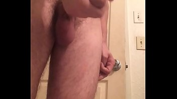 dripping cum after jacking off white.