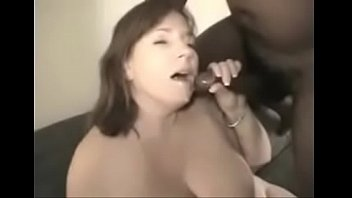 milf wife loves to fuck black cocks while.