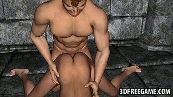 tasty 3d cartoon redhead hottie getting fucked hards.