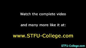 college teen gets jizzed