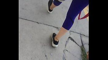 camara lenta culo en calle