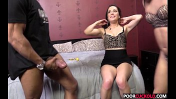 poor cuckold watching the destruction of his wife.