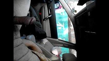 beijing china dick flash in car