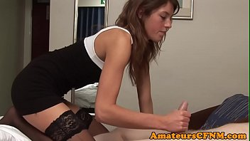 cfnm fetish babe wanking cock in.