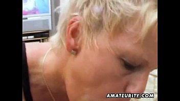 amateur milf anal fucking with cum.