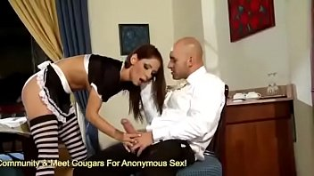 alpha2-horny maid fucks her boss