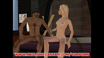 two hot avatars get their fuck.