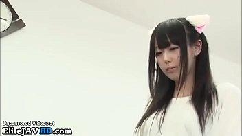 japanese tiny 18yo has to help her friend.
