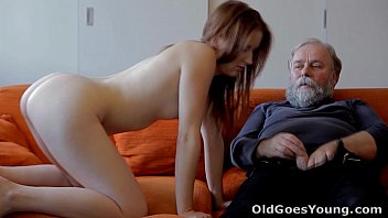 old goes young - sveta and her man.