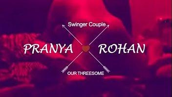 loud moaning desi wife pranya in threesome with.