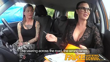 fake driving school sexy strap on fun for.