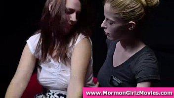 voyeurs watch teen mormon lesbians lick.