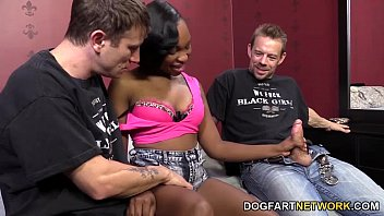 nikki ford gets a double dicking by white guys