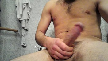 monster huge big cock handjob cumshot.