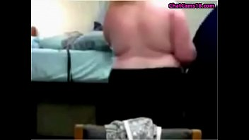 bbw teen dancing naked and getting dressed on webcam