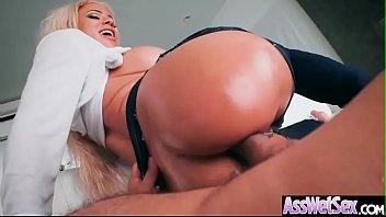 round big ass girl (luna star) enjoy deep.