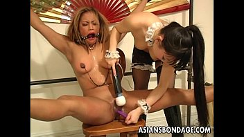 enchanting japanese cutie moans while being.