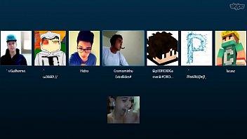 gays tretando no skype