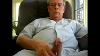 old man masturbation