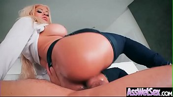 anal sex with horny big butt oiled girl.