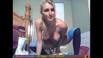 blonde cam babe dildo ride free live webcam.