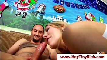 small dick loser busts huge load