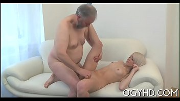 old man seduces juvenile babe