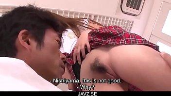 subtitles - asian teen nozomi nishiyama sucking and.