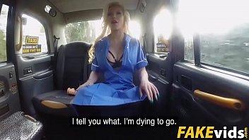 barbie sins in busty naughty nurse dirty taxi ride