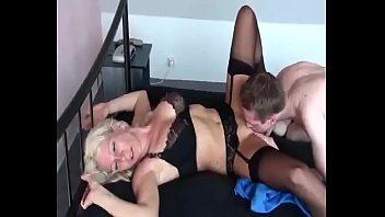 hot german milf fucks her young boy for.