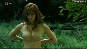 vica kerekes - naked in public, outdoors, big.